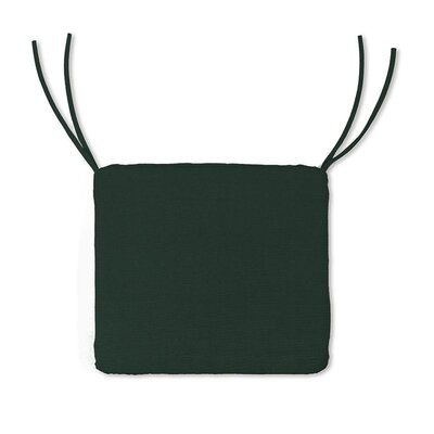 Outdoor Lounge Chair Cushion Color: Solid Forest Green
