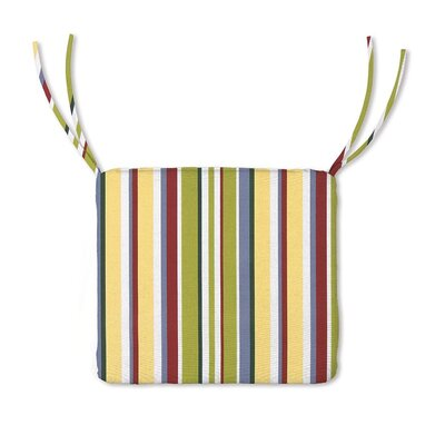 Outdoor Lounge Chair Cushion Color: Carnival Stripe