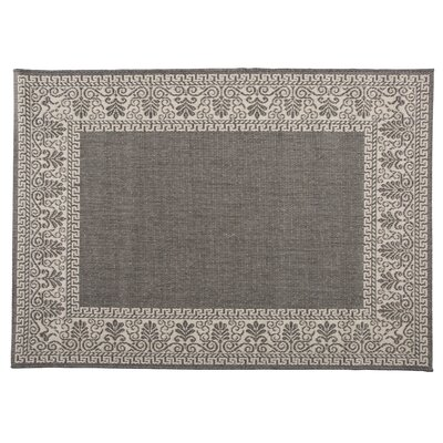 Veranda Scroll Indoor/Outdoor Area Rug Rug Size: Rectangle 39 x 53
