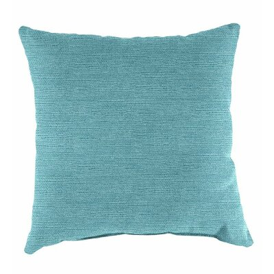 Classic Throw Pillow Color: Teal
