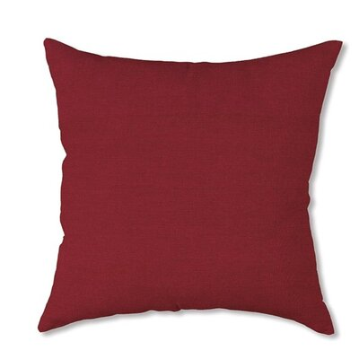 Classic Throw Pillow Color: Brick