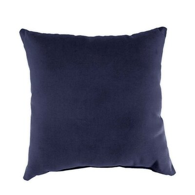 Classic Throw Pillow Color: Navy