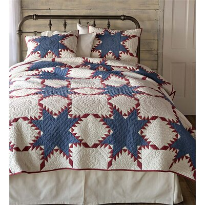 Liberty 3 Piece Quilt Set Size: Full/Queen