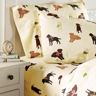 Lab Lovers Sheet Set Size: Queen