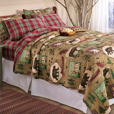 Cotton 3 Piece Quilt Set
