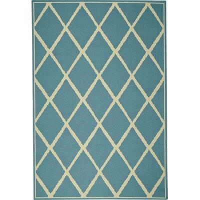 Lattice Surry Indoor/Outdoor Area Rug Rug Size: 35 x 55