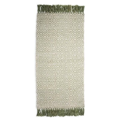 Hand-Woven Beige Area Rug Rug Size: Rectangle 8 x 11