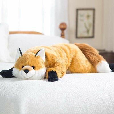 Fuzzy Fox Bed Rest Pillow