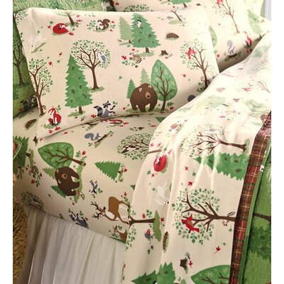 100% Cotton Flannel Sheet Set Size: Twin