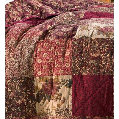 Floral Patchwork Cotton Quilt