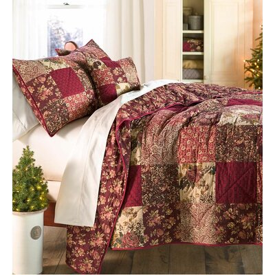 3 Piece Quilt Set Size: Queen