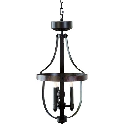3-Light LED Foyer Pendant