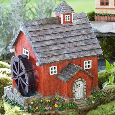 Miniature Fairy Garden Solar Mill Fairy Garden 57346