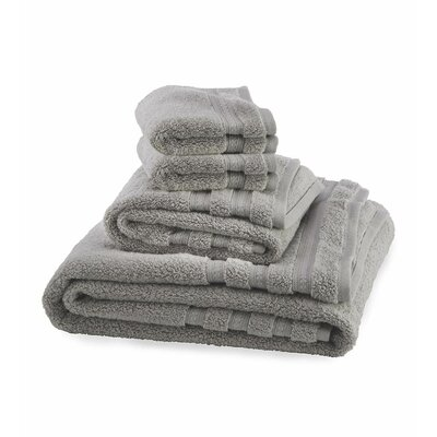 Supreme Soft 6 Piece Towel Set Color: Gray
