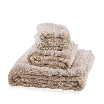 Supreme Soft 6 Piece Towel Set Color: Taupe