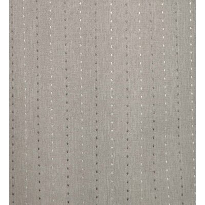 Diamond Dot Room Darkening Roman Shade Blind Size: 32 W x 63 L, Color: Smoke