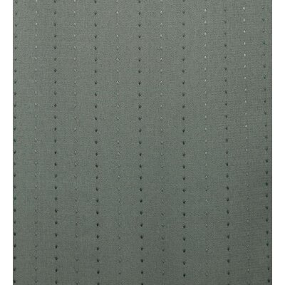 Diamond Dot Room Darkening Roman Shade Blind Size: 34 W x 63 L, Color: Green