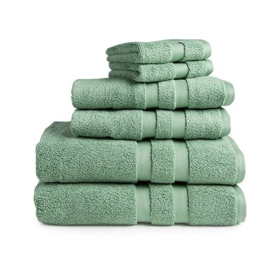 Signature 6 Piece Towel Set Color: Tarragon