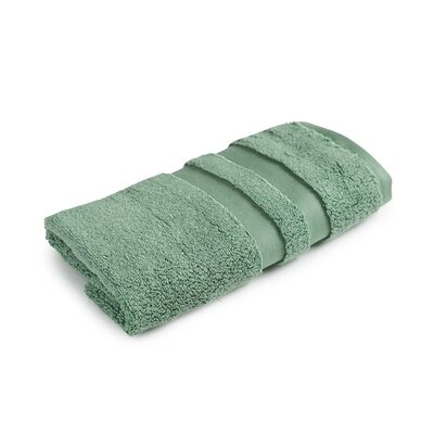 Signature Hand Towel Color: Tarragon