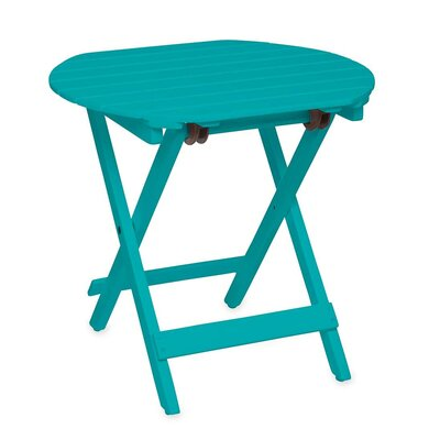 Wooden Adirondack Side Table Finish: Blue