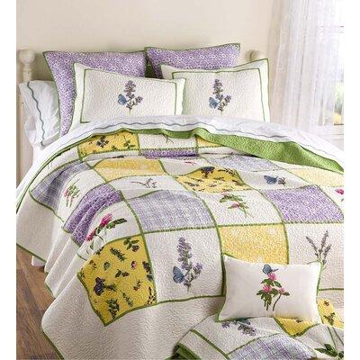 Cecelia Floral Quilt Set Size: Queen