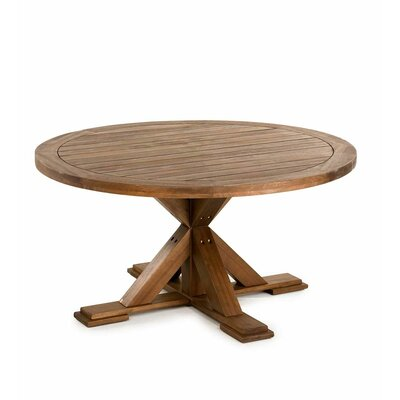 Optimal Claremont Eucalyptus Round Wooden Dining Table - Product picture - 8312