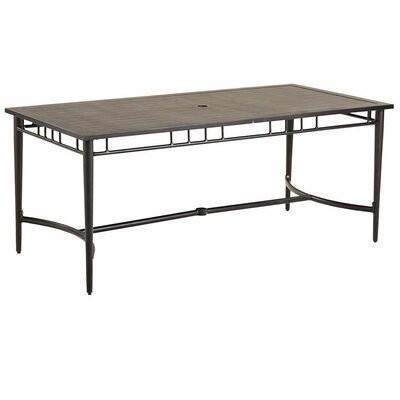 Highland Aluminum Outdoor Metal Dining Table
