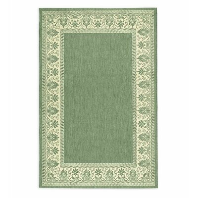 Veranda Green Indoor/Outdoor Area Rug Rug Size: Rectangle 76 X 109
