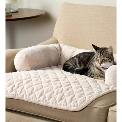 Kingsley Chair Pet Bolster Color: Cream