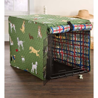 Bossier Bedtime Crate Cover Size: 31 H x 29 W x 43 D