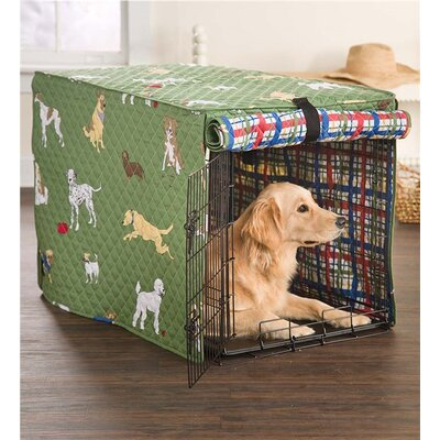 Bossier Bedtime Crate Cover Size: 26 H x 24 W x 37 D
