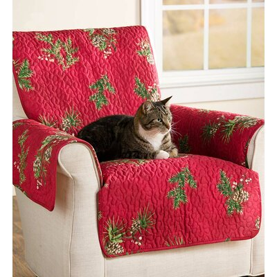 Pet Box Cushion Sofa Slipcover Size: Medium