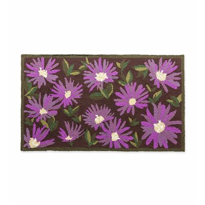 Aster Flower Indoor/Outdoor Doormat