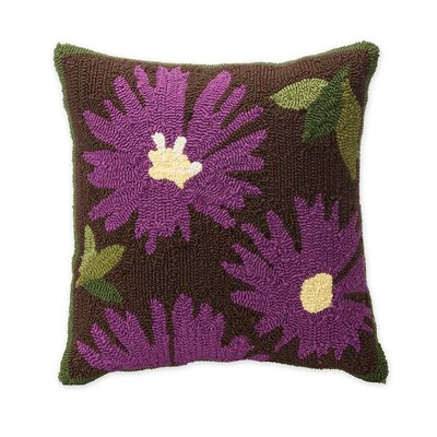 Aster Flower Throw Pillow