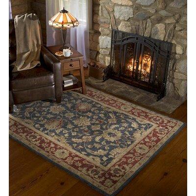 Elizabeth Hand-Tufted Wool Area Rug Rug Size: 36 x 55
