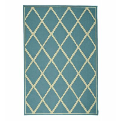 Lattice Surry Indoor/Outdoor Area Rug Rug Size: Rectangle 19 x 39
