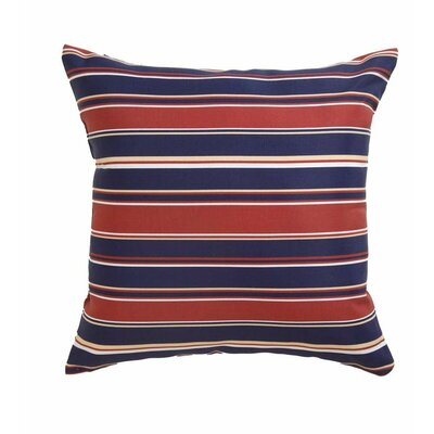 Polyester Classic Throw Pillow Fabric: Patriotic Stripe