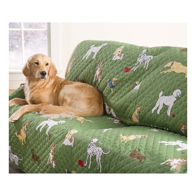 Pet Bedtime Tails Armchair Slipcover