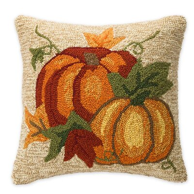Pumpkin Outdoor Throw Pillow