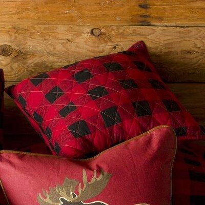 Buffalo Plaid 100% Cotton Throw Pillow