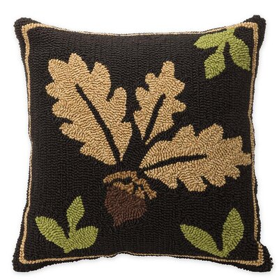 Woodland Acorn Outdoor Throw Pillow