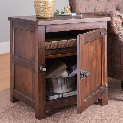 Portland Ice Box End Table
