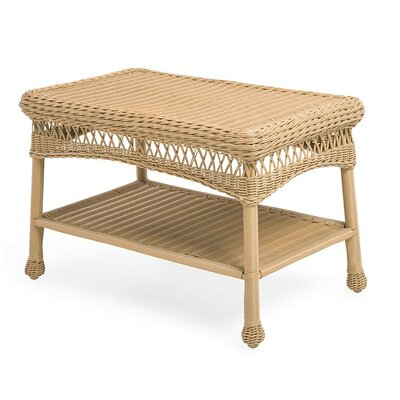 Wicker Coffee Table Color: Natural