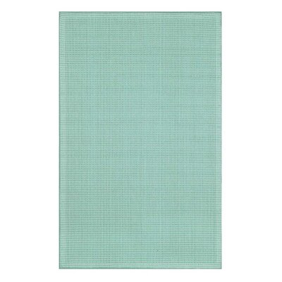 Spring Meadow Turquoise Indoor/Outdoor Area Rug