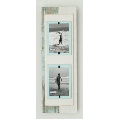 Cape Cod Double Picture Frame Color: Sea Mist