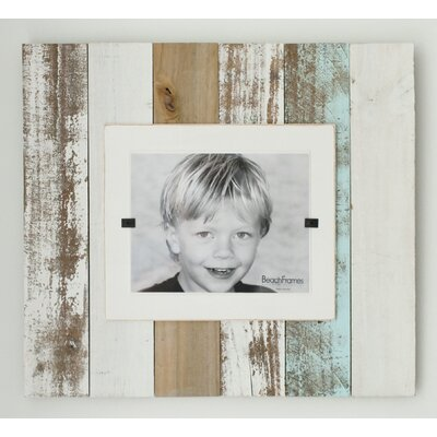 Cape Cod Extra Large Single Picture Frame Color: Sea Mist