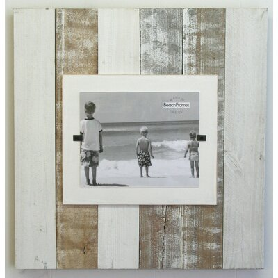 Cape Cod Extra Large Single Picture Frame Color: White