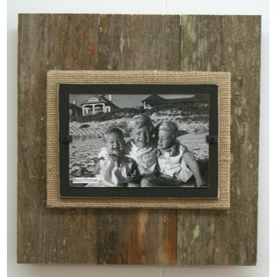 Large Single Picture Frame Color: Brown