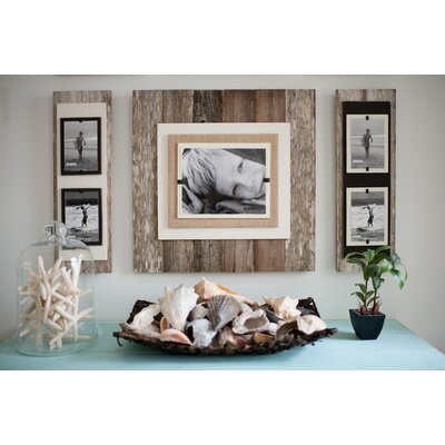 Double Picture Frame Color: Brown / Cream