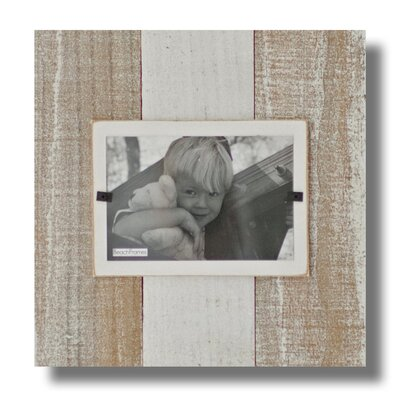 Cape Cod Large Single Picture Frame Color: White